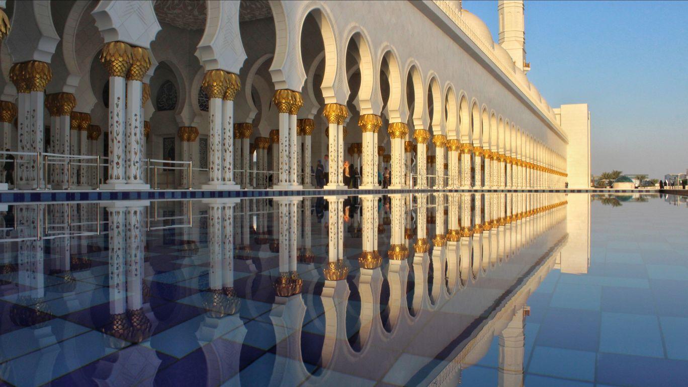 Photo of Sheikh Zayed Grand Mosque By Ashutosh Thite