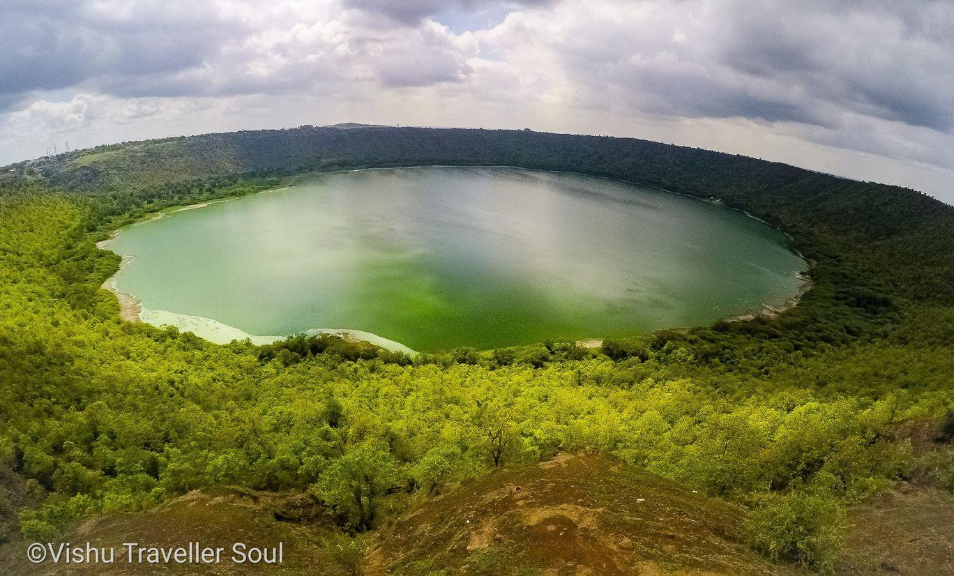 Photo of Lonar Lake By Vishu Traveler Soul