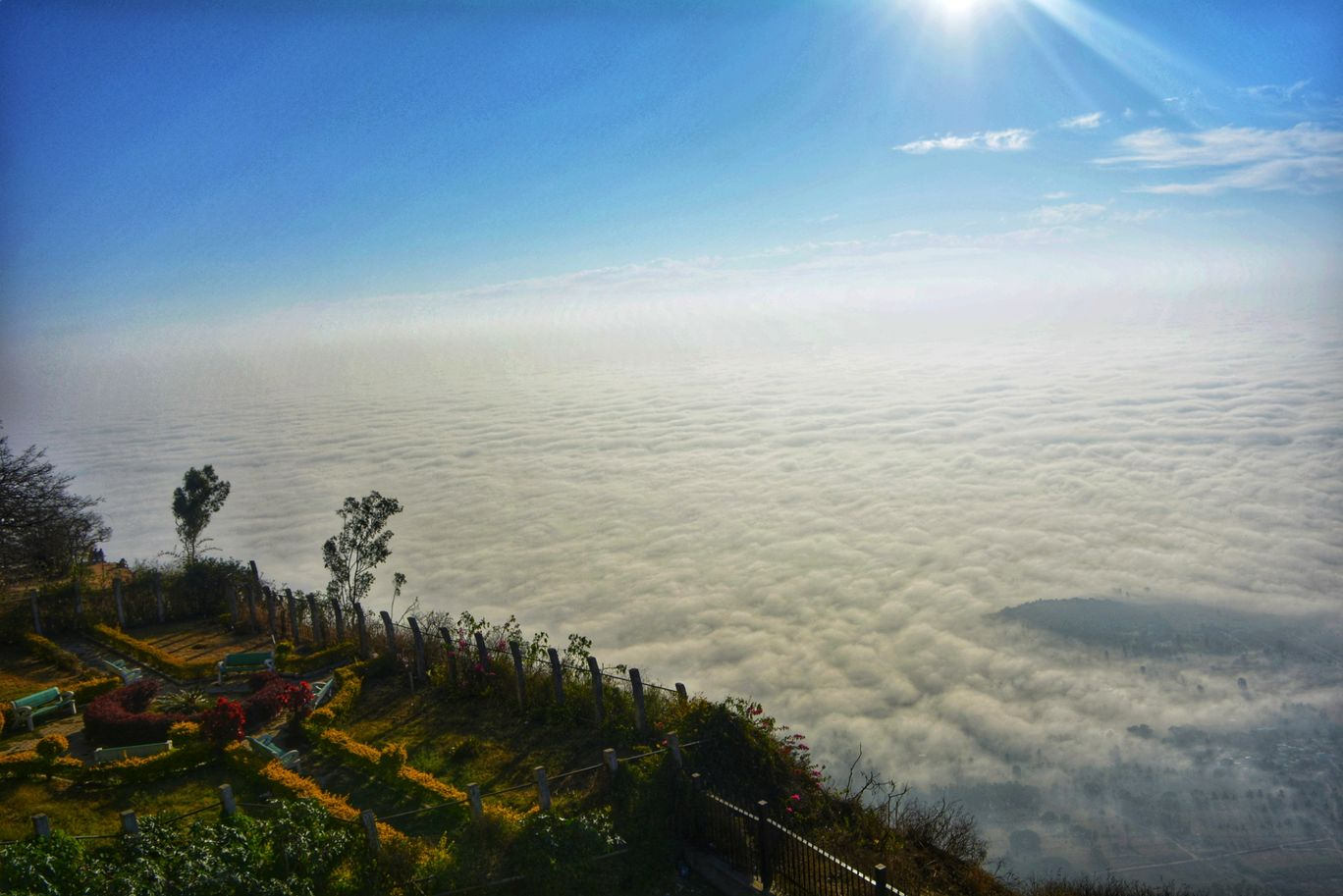Photo of Nandi Hills By Ramadevi Reddy
