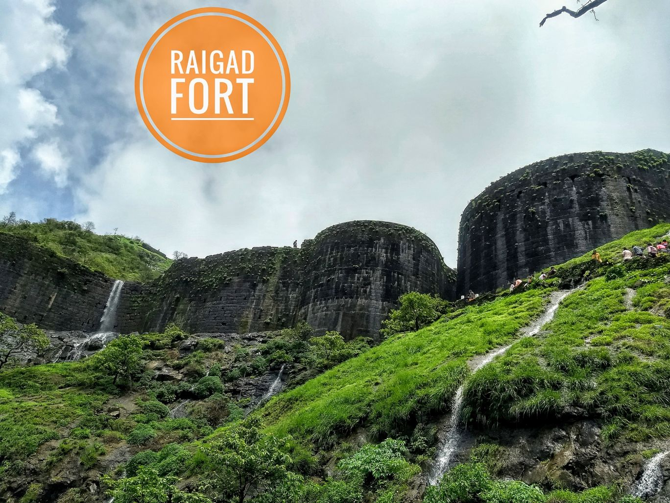 Photo of Raigad Fort By The Lazy Wanderer