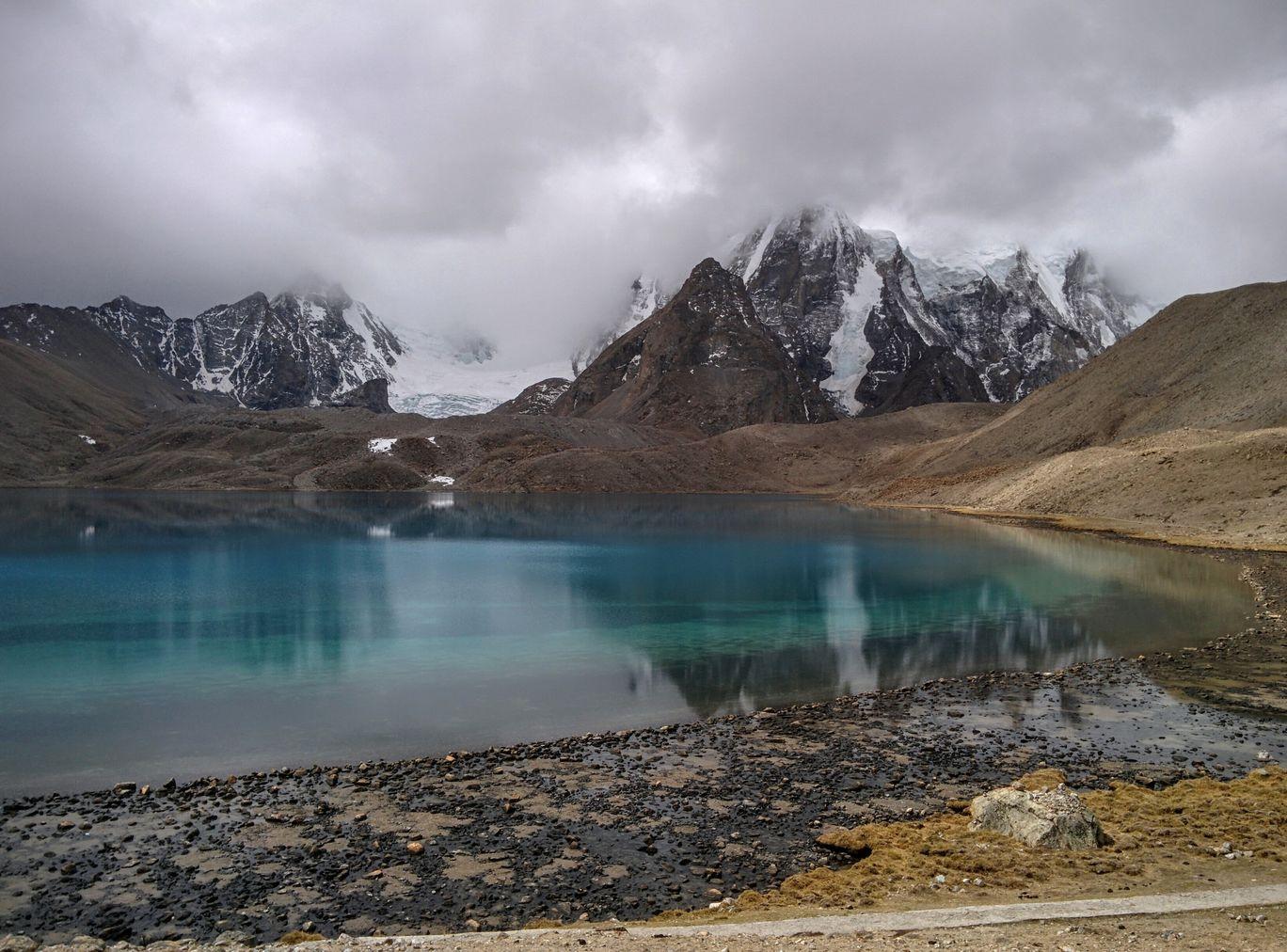 Photo of Gurudongmar Lake By Adnan Taher