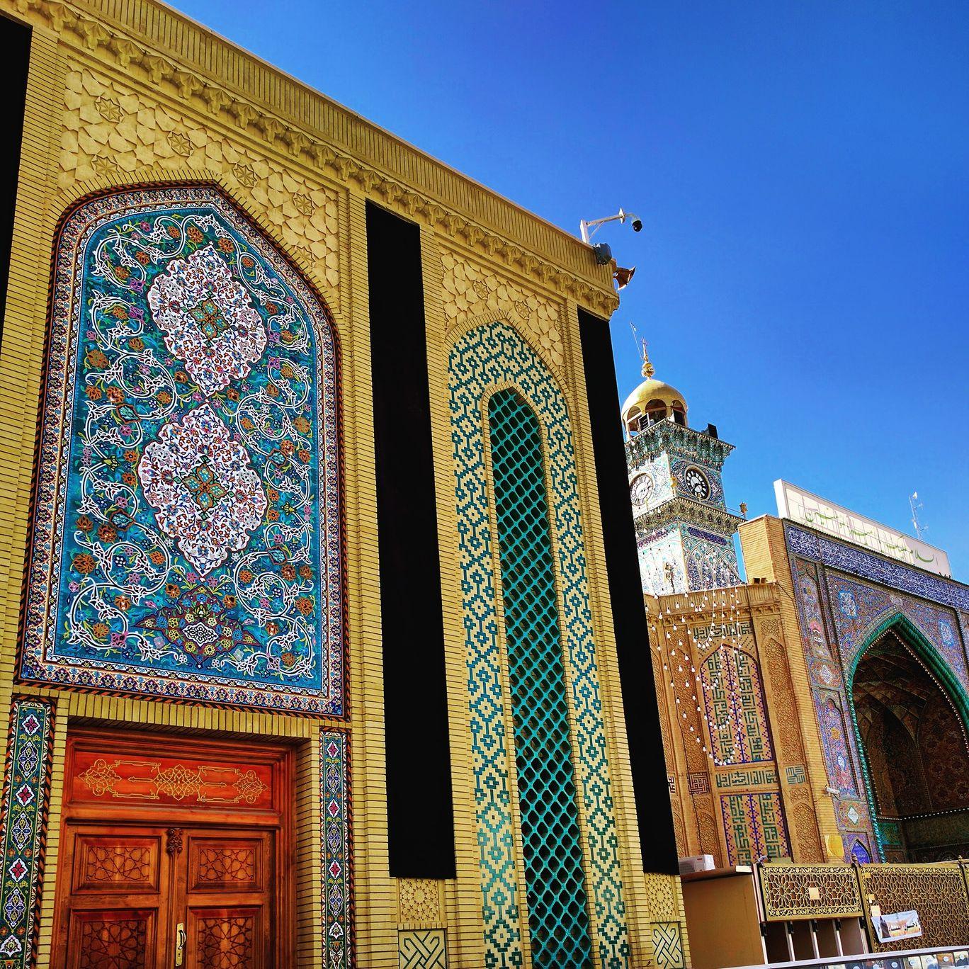 Photo of Imam Ali a.s Holy Shrine By Adnan Taher