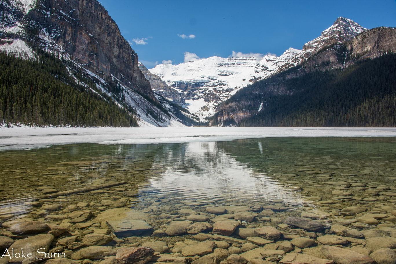 Photo of Lake Louise By Aloke Surin