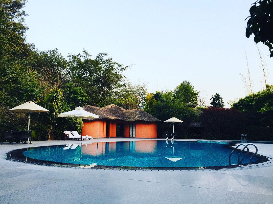 Photo of A Luxury Staycation In Taj Resort Jim Corbett! #luxurygetaway By Dinesh Lal