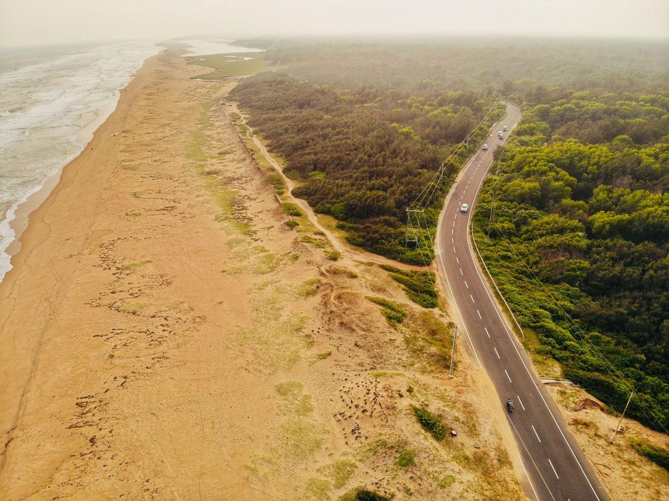 Photo of Puri-Konark Marine Drive By Ankeet Panda