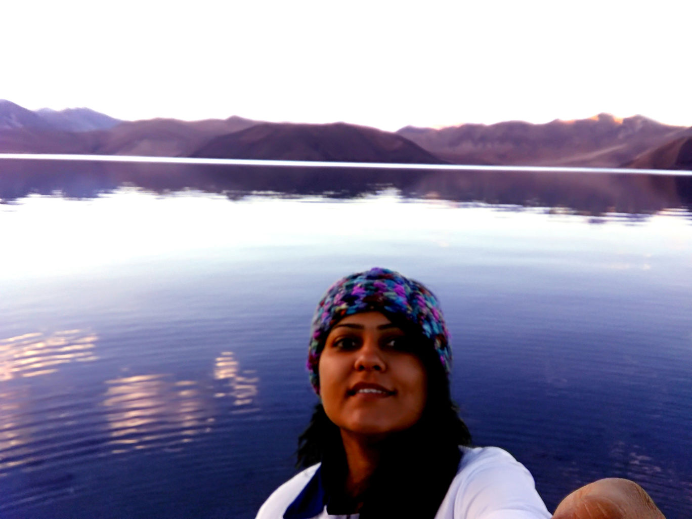 Photo of Pangong Lake By Parita Vadera