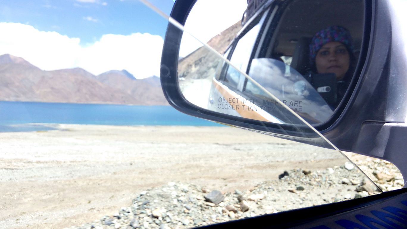 Photo of Pangong Lake By Parita Vadera