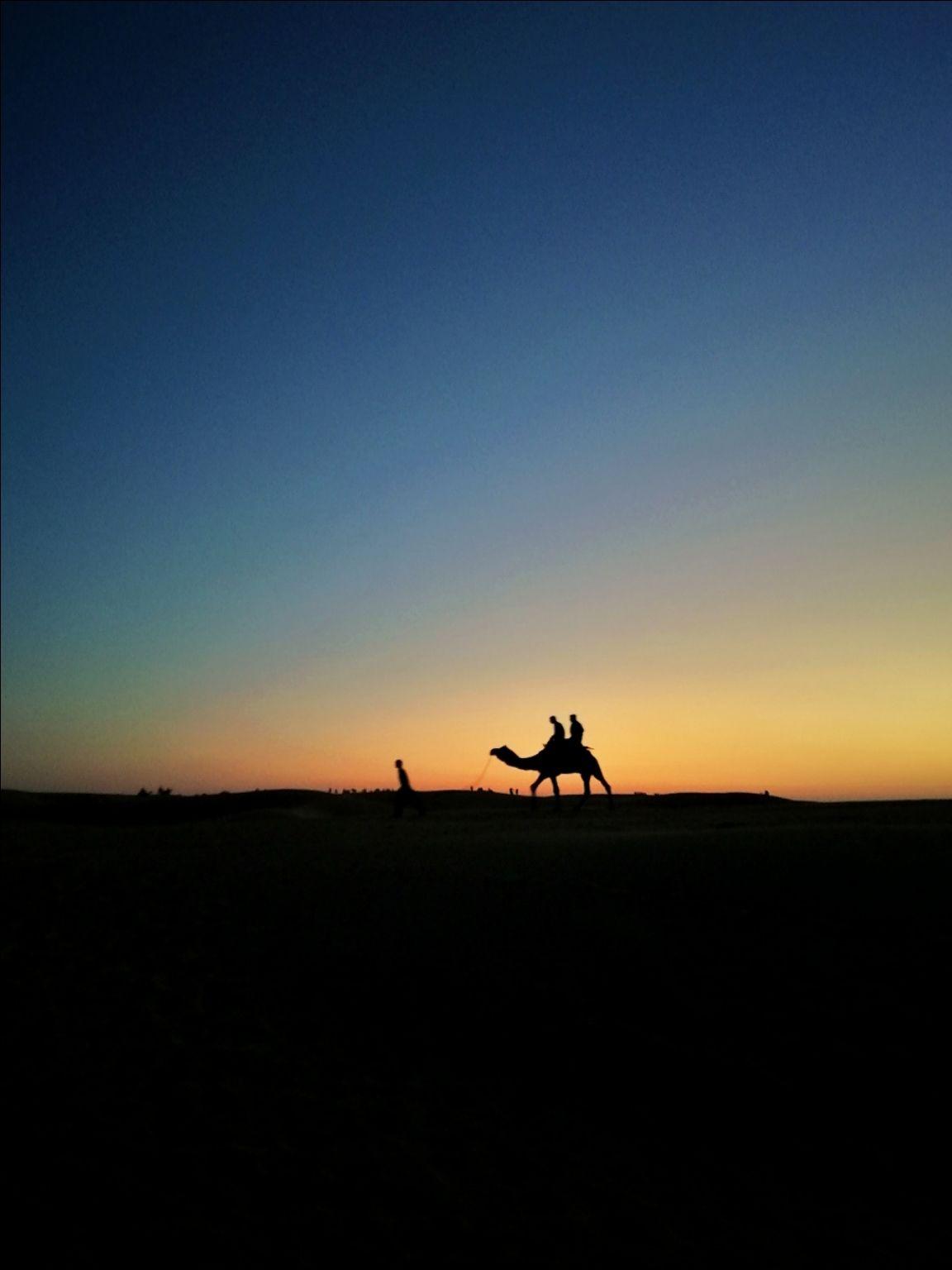 Photo of Sam Sand Dunes By Shafi Bin Sulaiman