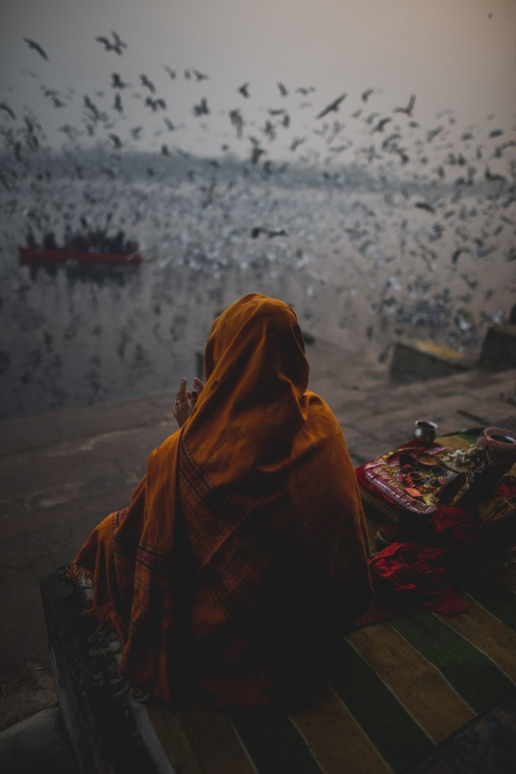 Photo of Yamuna Ghat By Akshay Kapoor