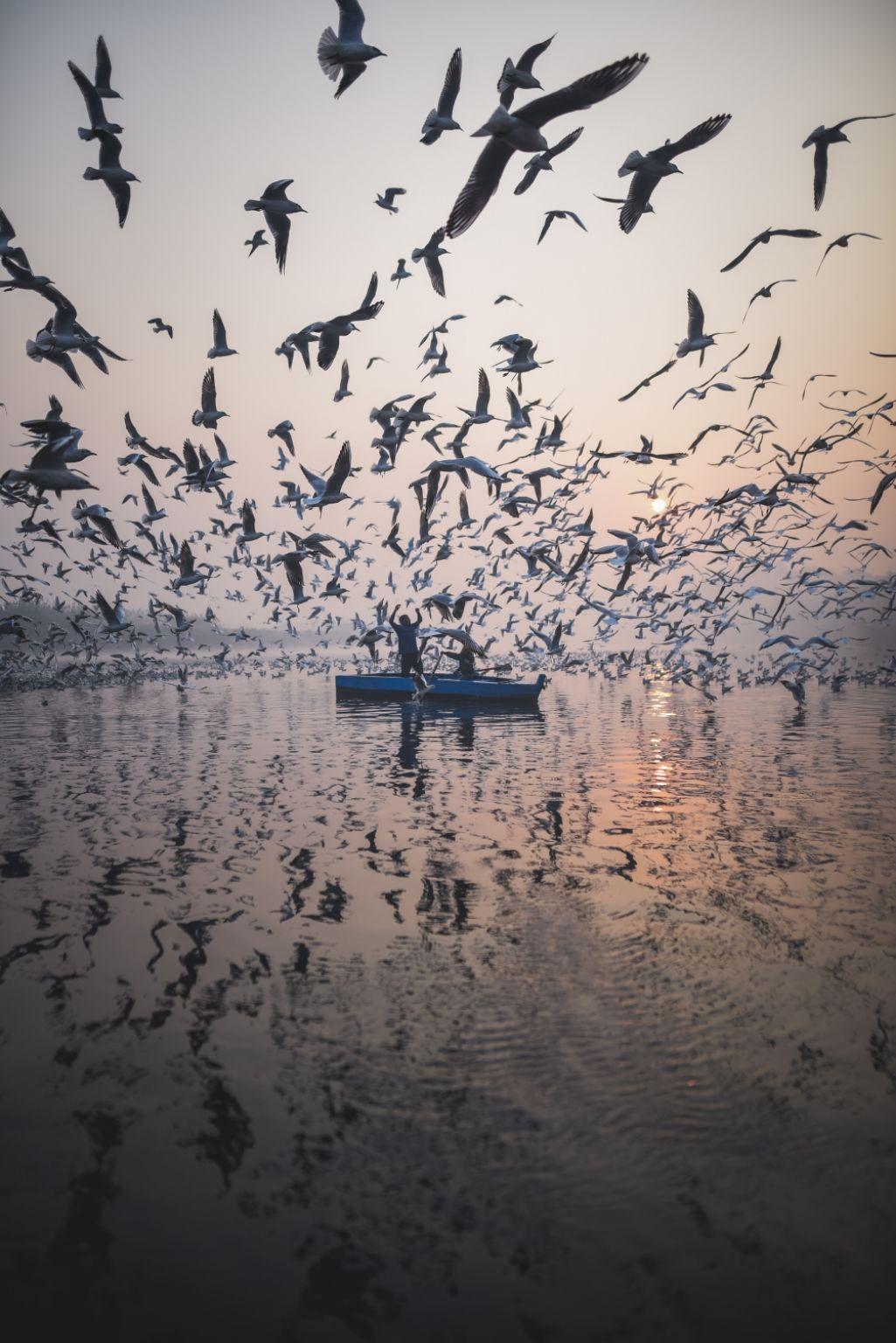 Photo of Yamuna Ghat By Akshay Kapoor