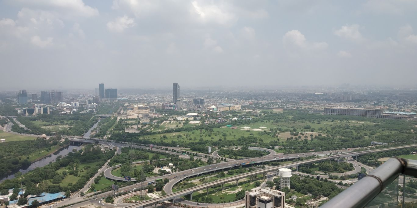 Photo of Noida from 43rd Floor of SuperNova #BestTravelPictures By Ambrish Varshney