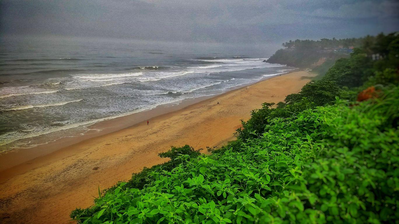 Photo of Varkala Beach By pshrutika