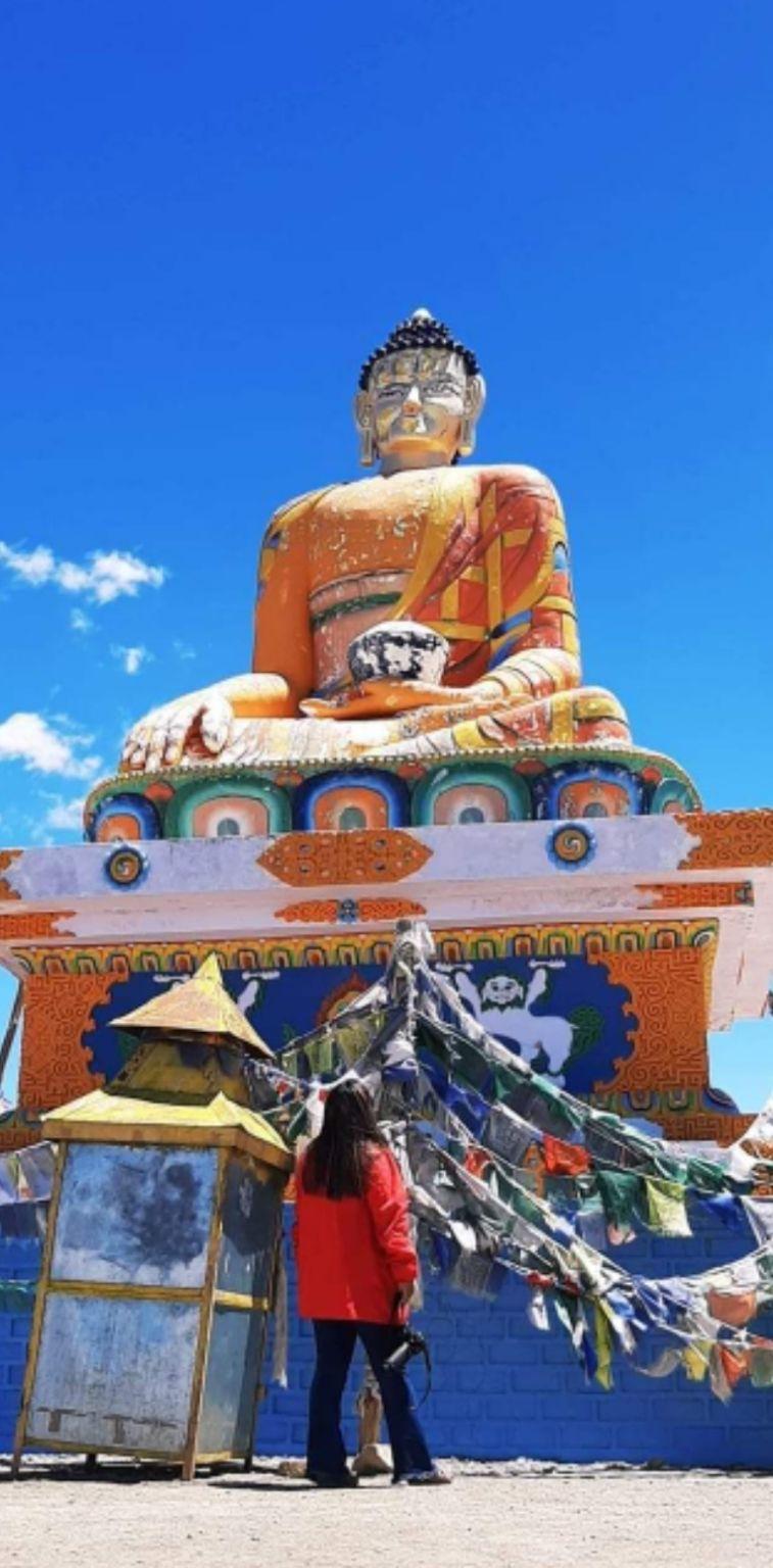 Photo of Langza Buddha Statue By pshrutika