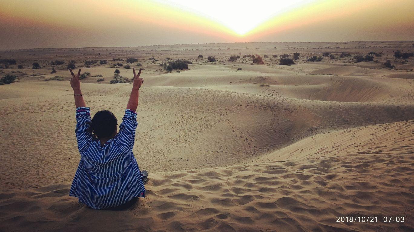 Photo of Sam Sand Dunes By Swagataa Chatterjee