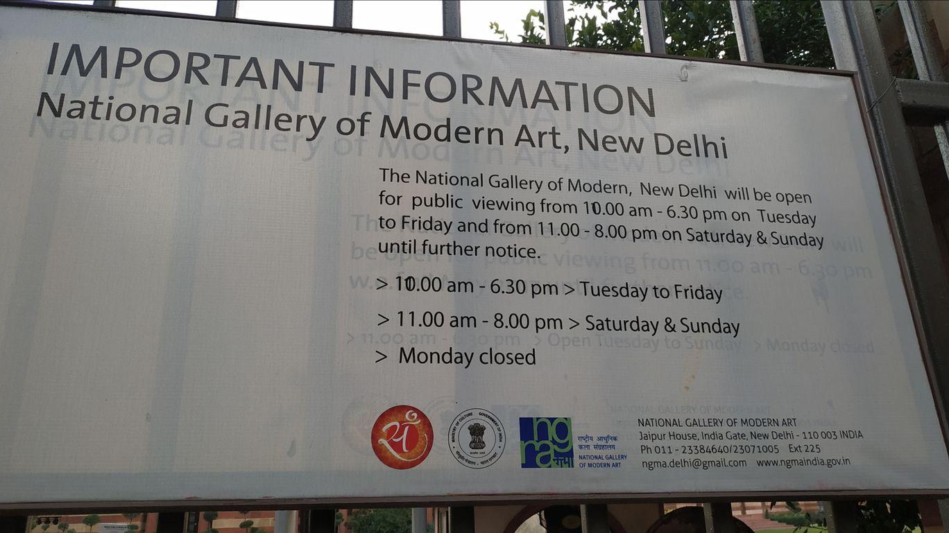 Photo of National Gallery of Modern Art By Deepak Mishra