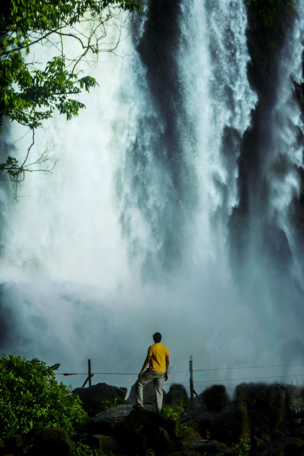 Photo of Athirappilly Water Falls By Shubham Ganbote
