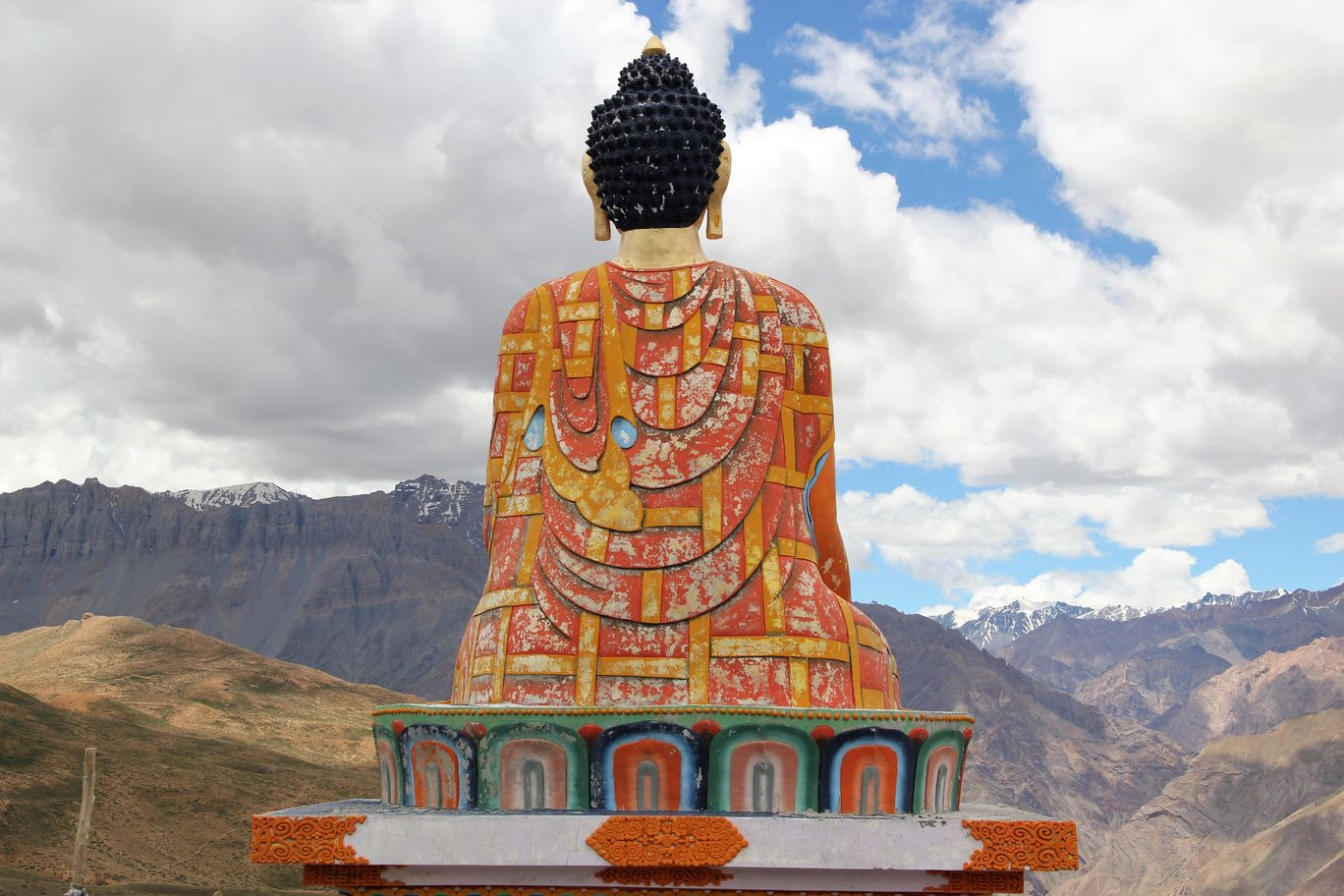 Photo of Langza Buddha Statue By Shweta Aggarwal