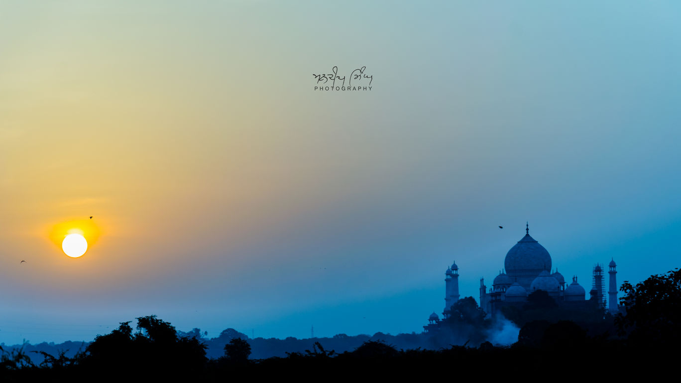 Photo of Taj Mahal, Agra By Mandeep Singh