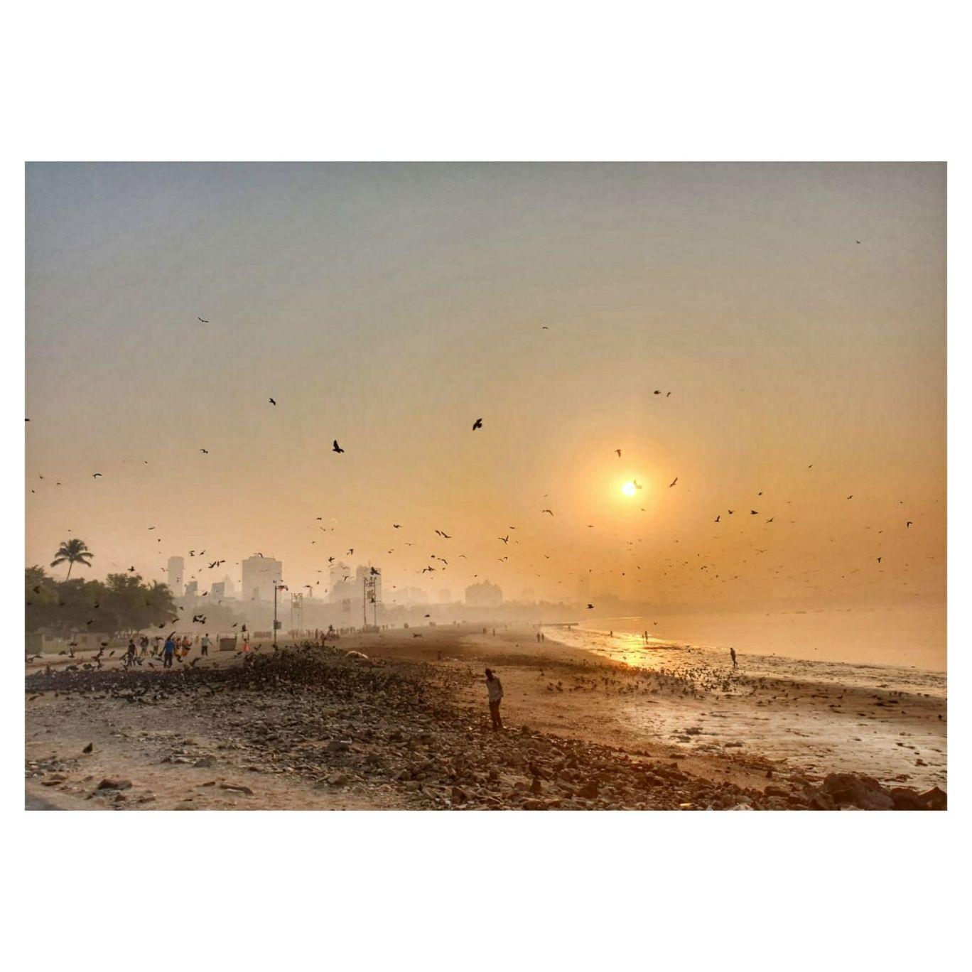 Photo of Girgaon Chowpatty Beach By Neha Rajke