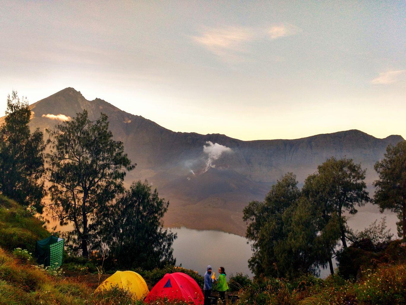 Photo of Mount Rinjani By Uddipan Halder