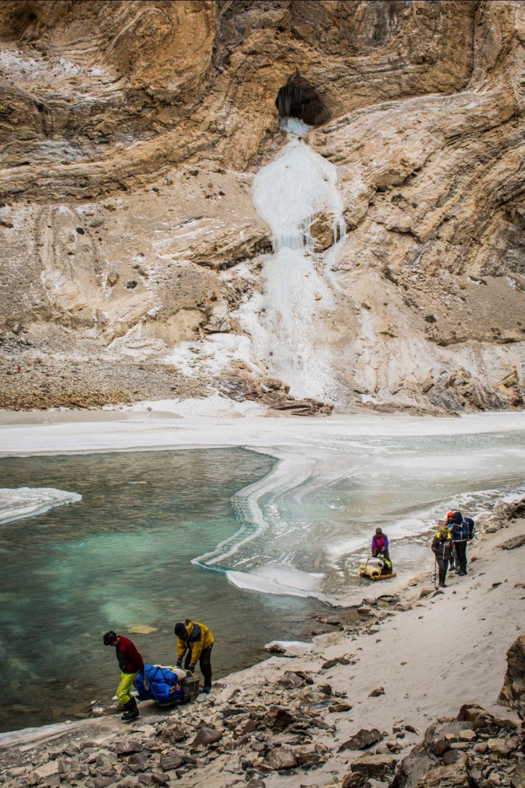 Photo of Chadar trek - Trekking In Ladakh - Frozen River Trekking In Ladakh By Deepesh Agarwal