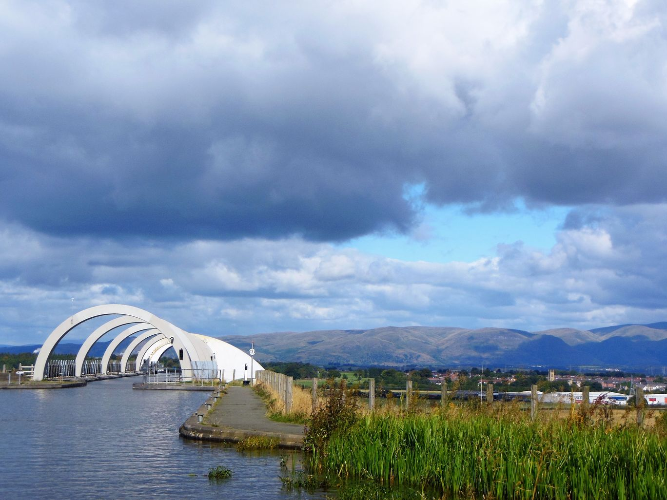 Photo of The Falkirk Wheel By Nithin S P