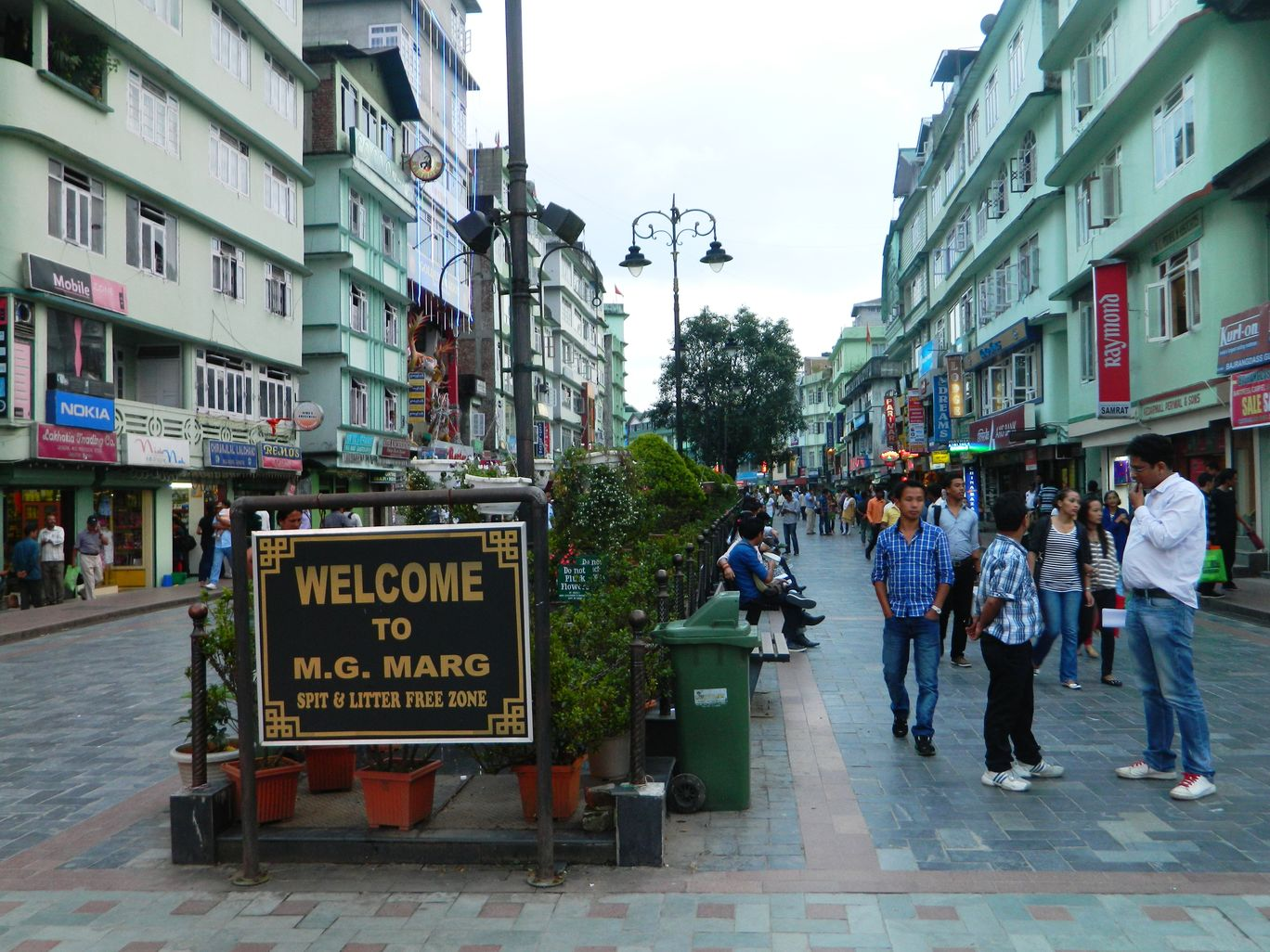 MG Marg Market, Gangtok, India: View Images, Timing and Reviews | Tripoto