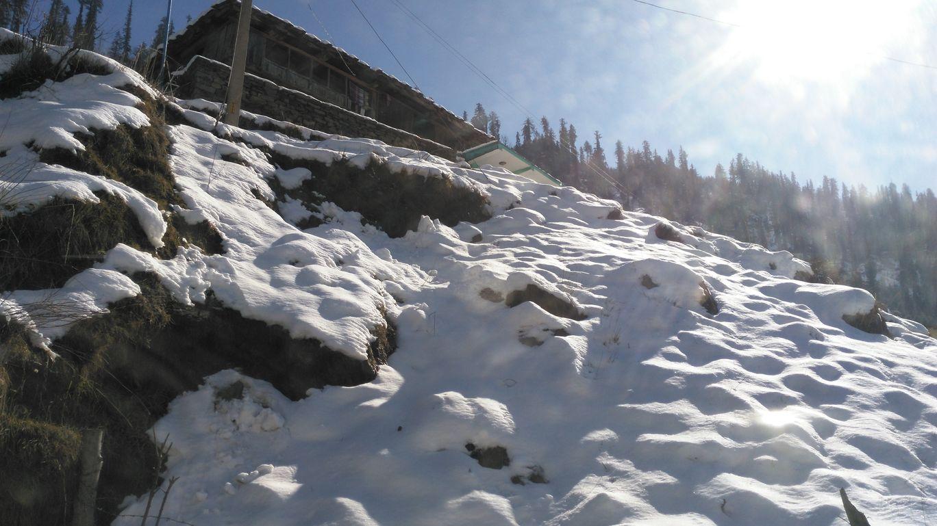 Photo of Manali's First Snow By Mahesh Maddala