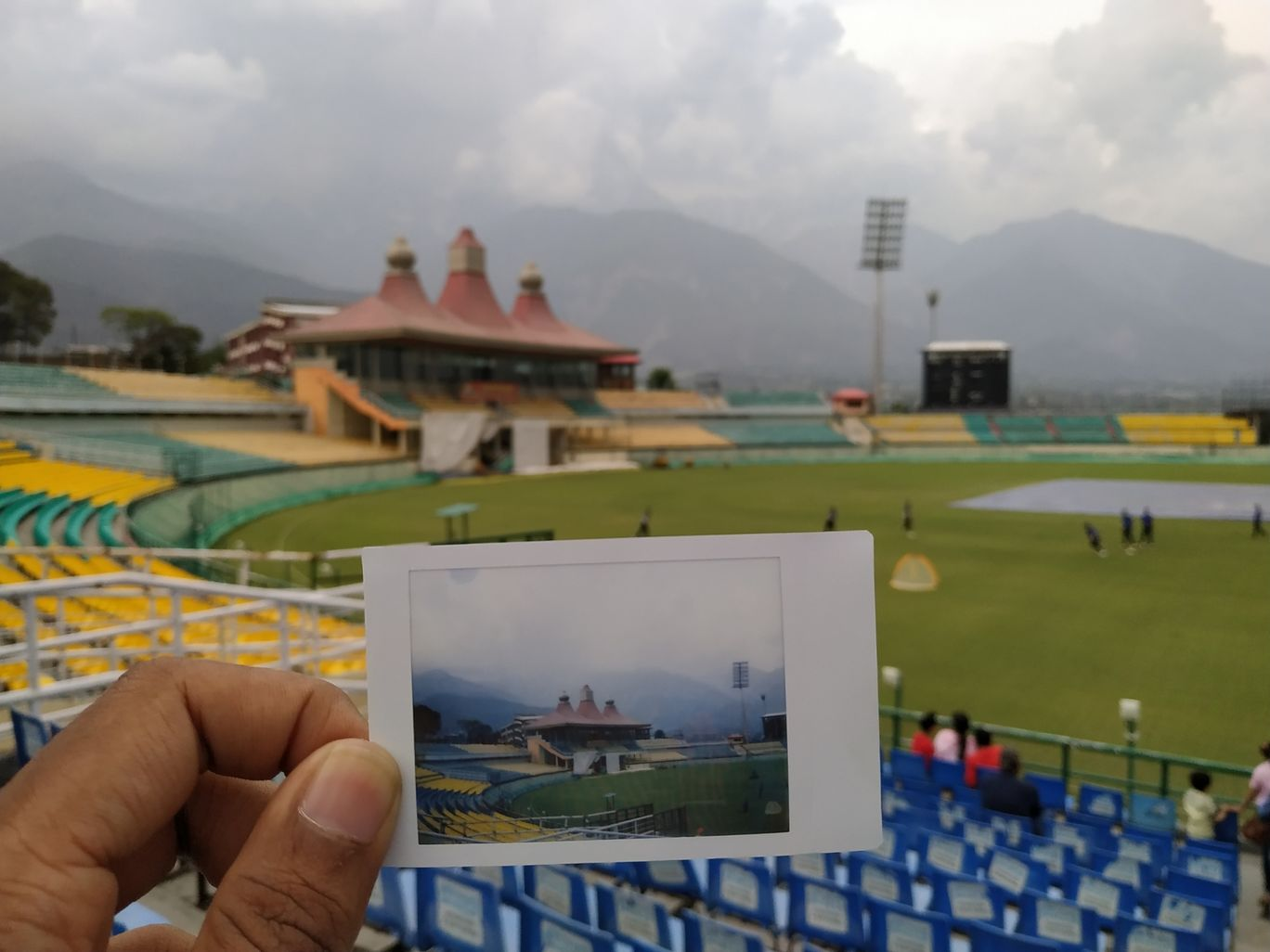 Photo of Himachal Pradesh Cricket Association Stadium Dharamshala By Siddharth Shankar
