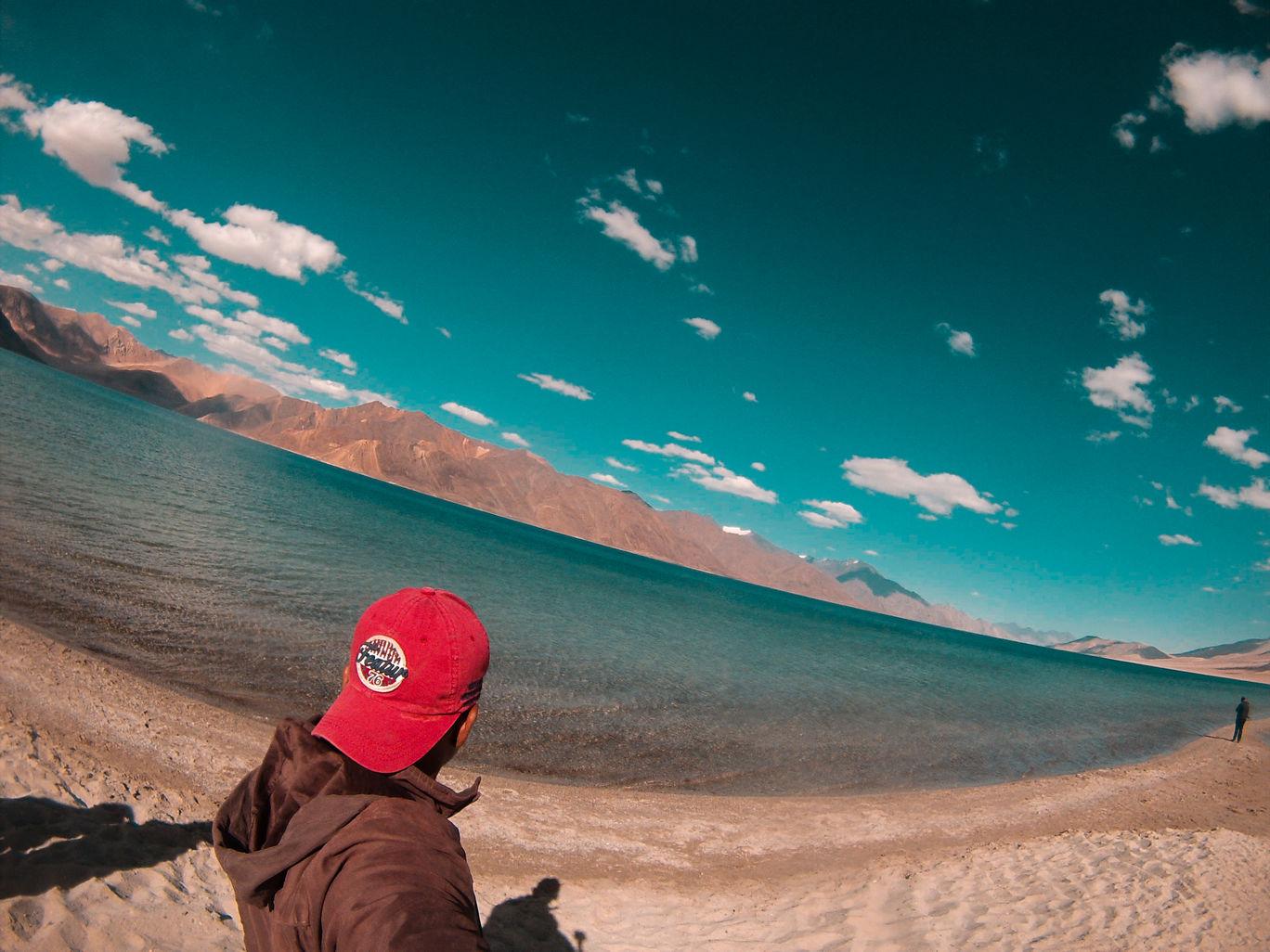 Photo of Pangong Lake By Vikas Sawant
