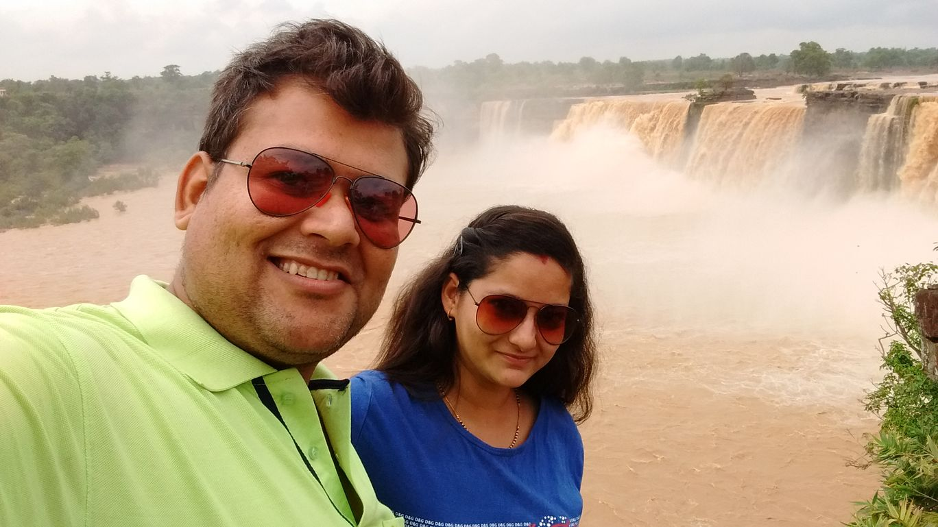 Photo of Chitrakote Falls By Shrutika Arya Chhabra
