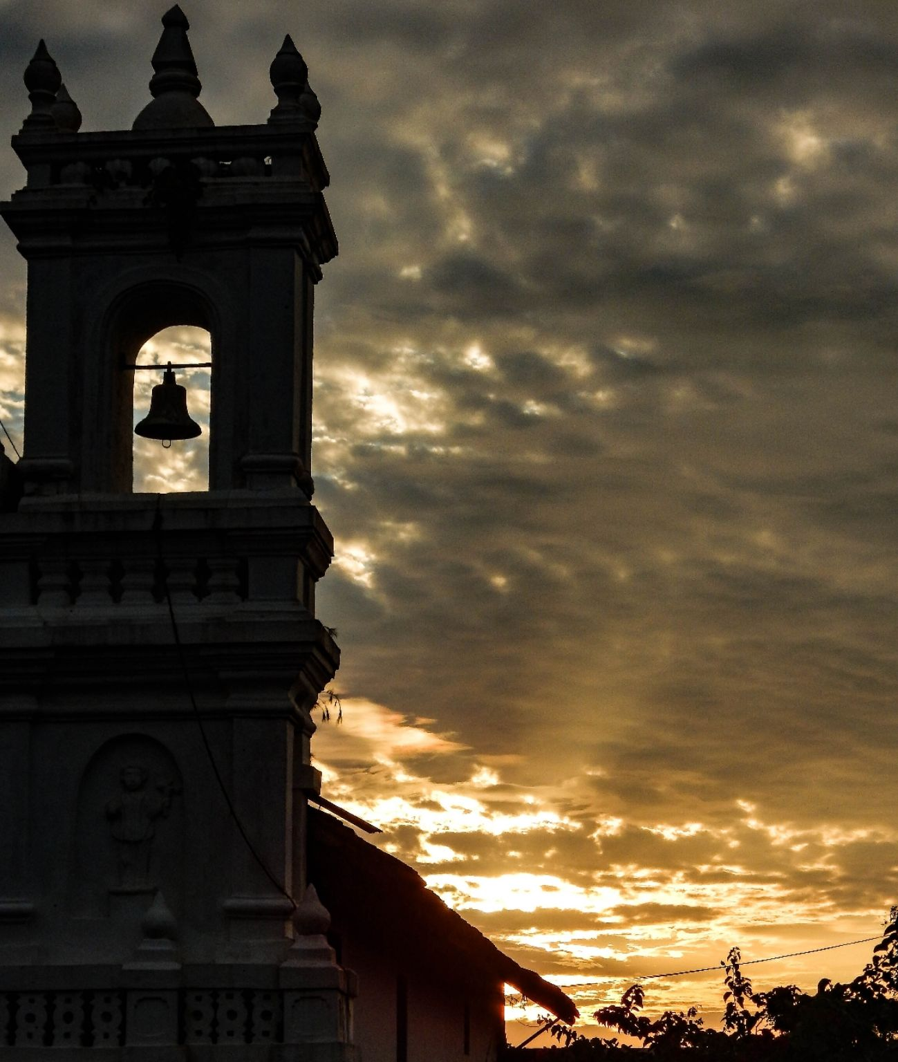 Photo of Tiracol Church By Samjukta Paul