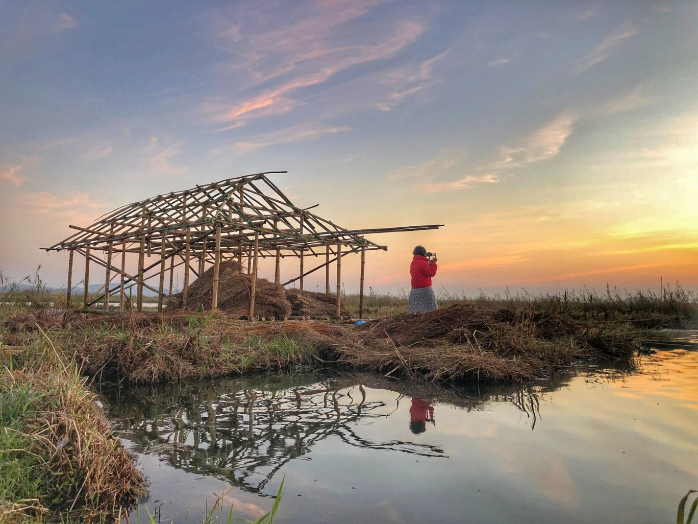 Photo of Loktak Lake By Soumi Datta