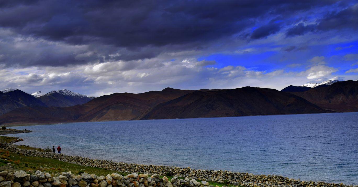 Photo of Pangong Lake By Akash Duhoon
