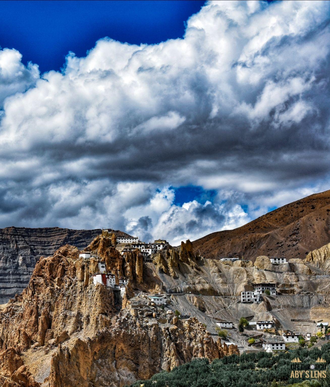 Photo of Dhankar Monastery By Abhay Banthia