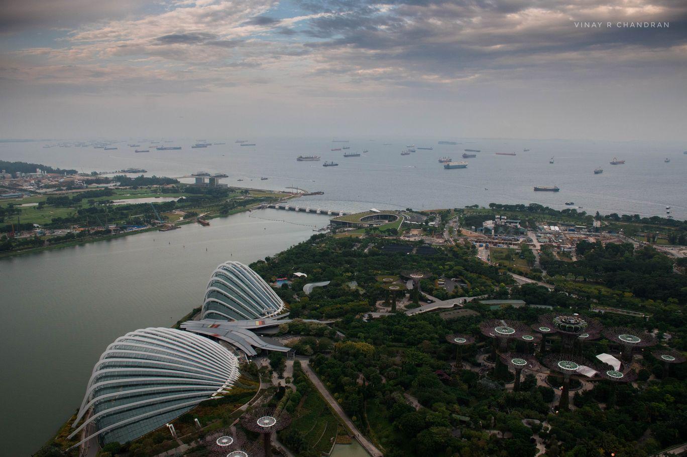 Photo of Marina Bay Sands Hotel By Vinay R Chandran