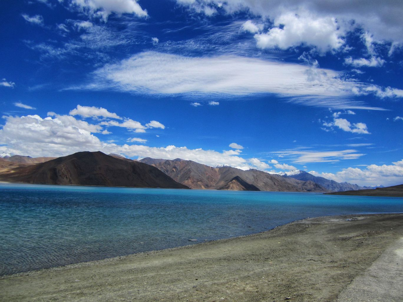 Photo of Pangong Tso By Krishna Dev