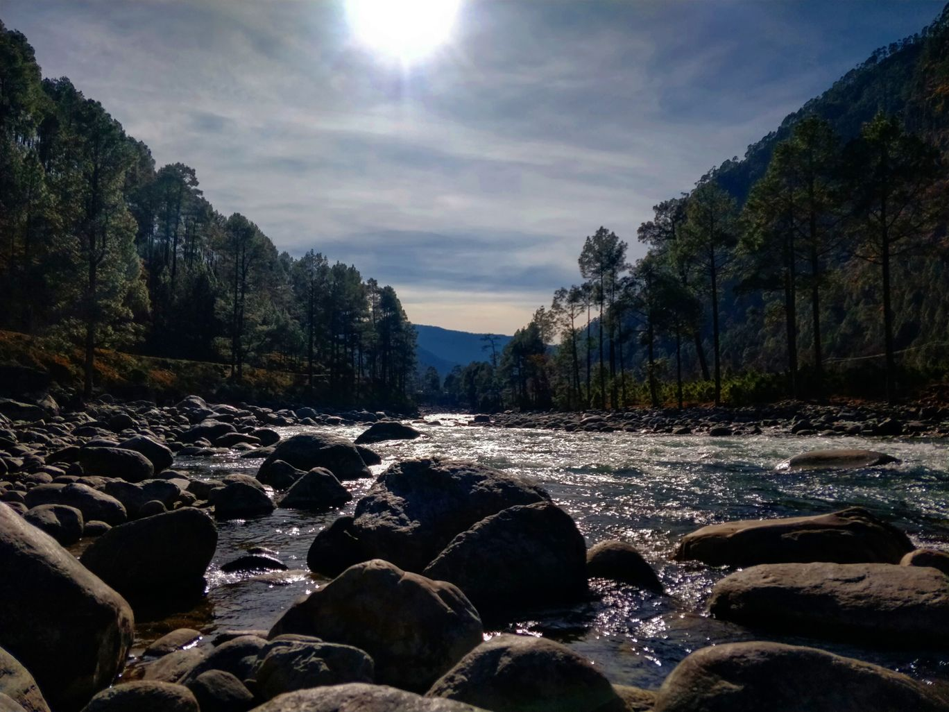 Photo of Tons River View Point By Swati Joshi