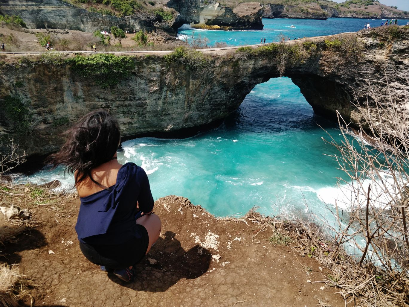 Photo of Broken Beach Nusa penida Bali By Vidya Pinky