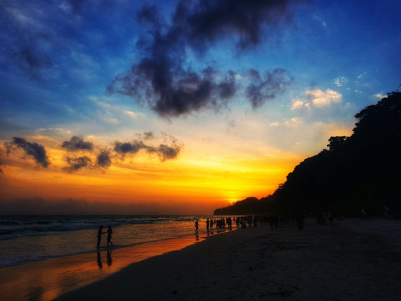 Photo of Radhanagar Beach By Rahul Johari