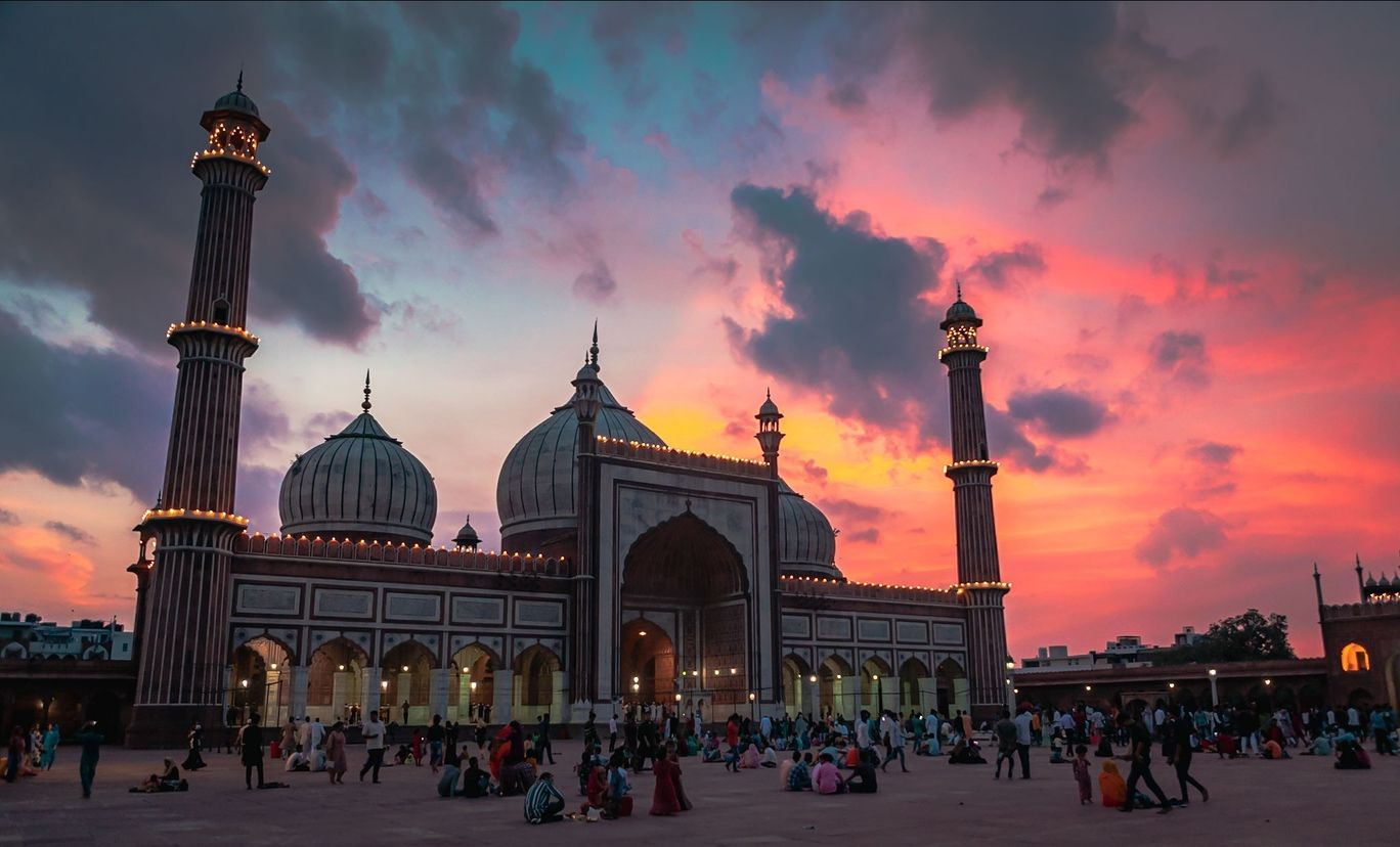 Photo of Jama Masjid By Mridupowan Baishya
