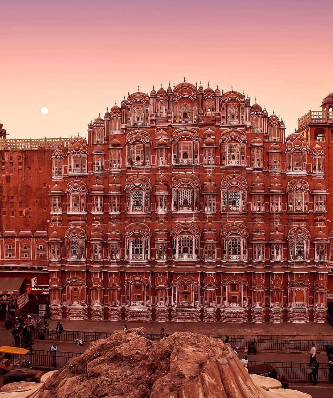 Photo of Hawa Mahal By Vinay Chand