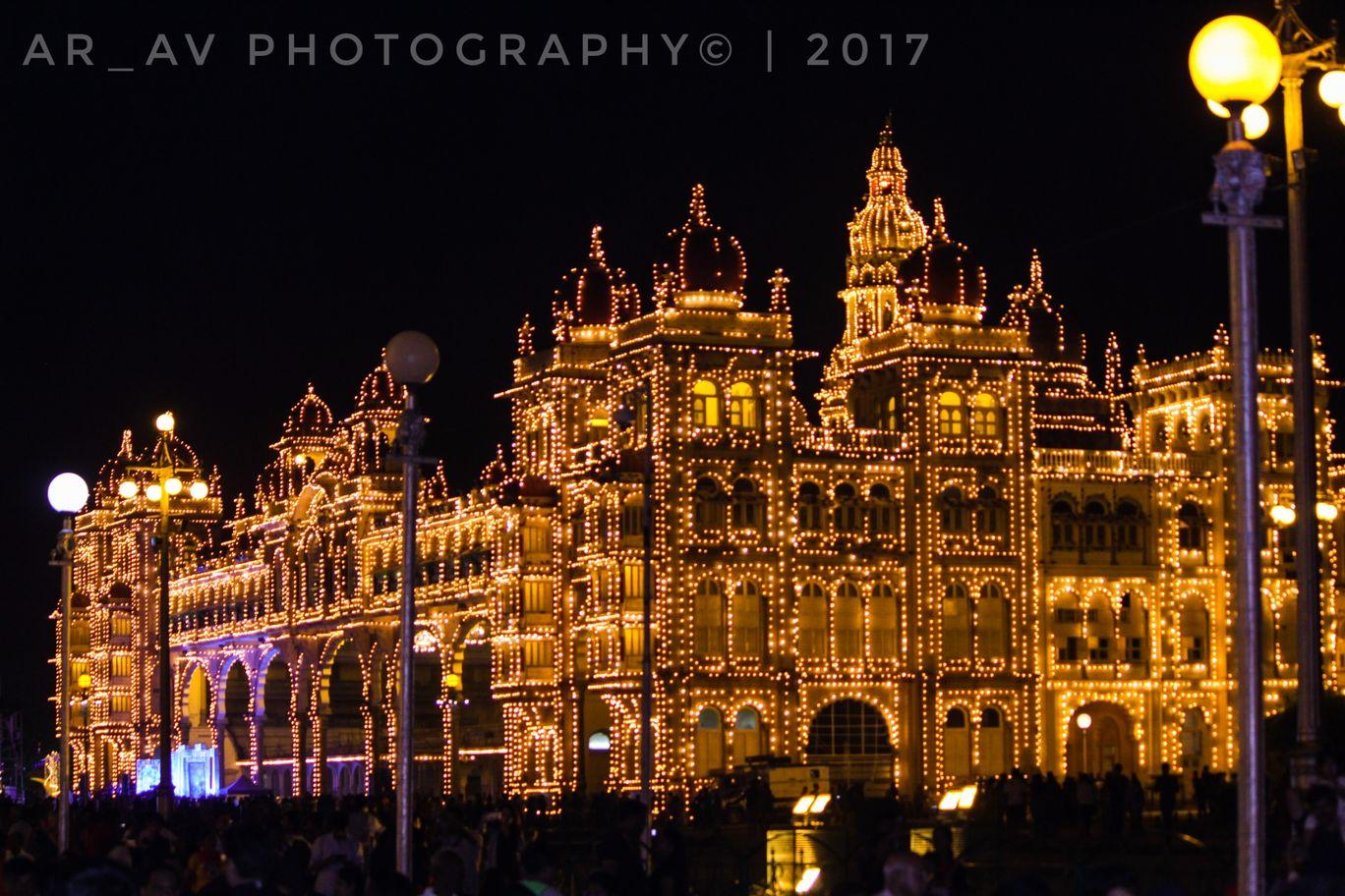 Photo of ಮೈಸೂರು ಅರಮನೆ By YashwanthAVY