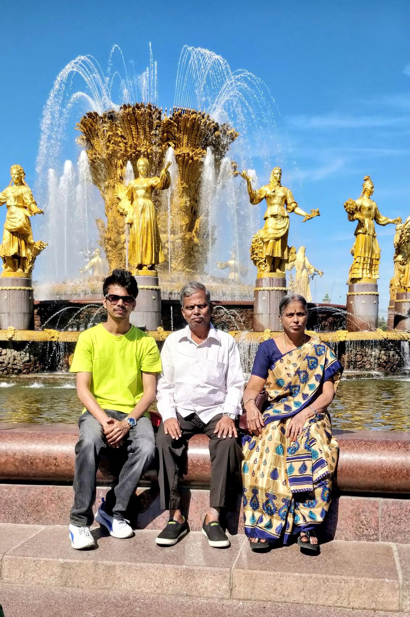 Photo of VDNKh By Vijay Anand Srinivasan