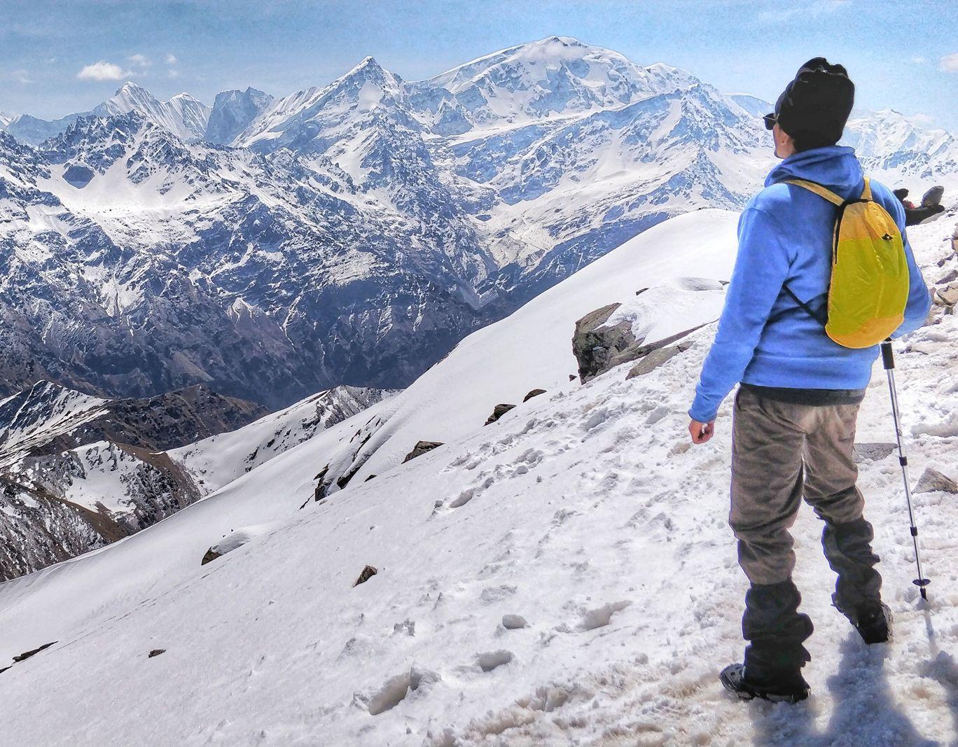 Photo of Pangarchulla Peak By Padam Kochar