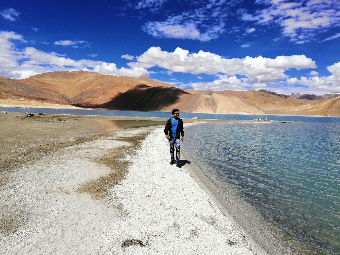 Photo of Pangong Lake By Anubhav Goel