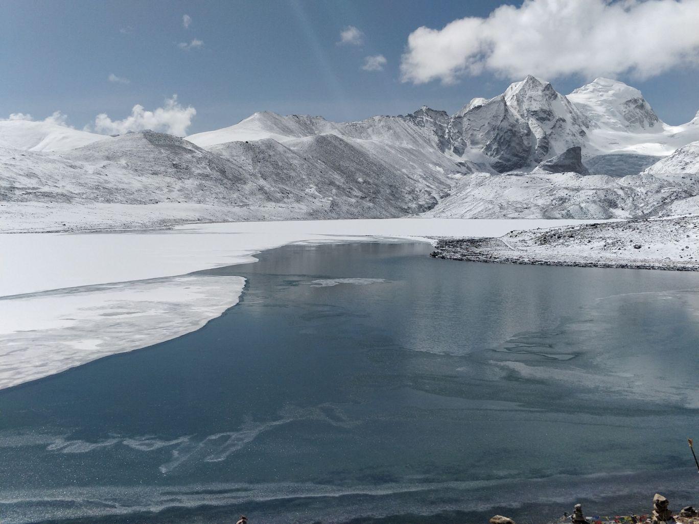 Photo of Gurudongmar Lake By Hari Chandu Vakacharla