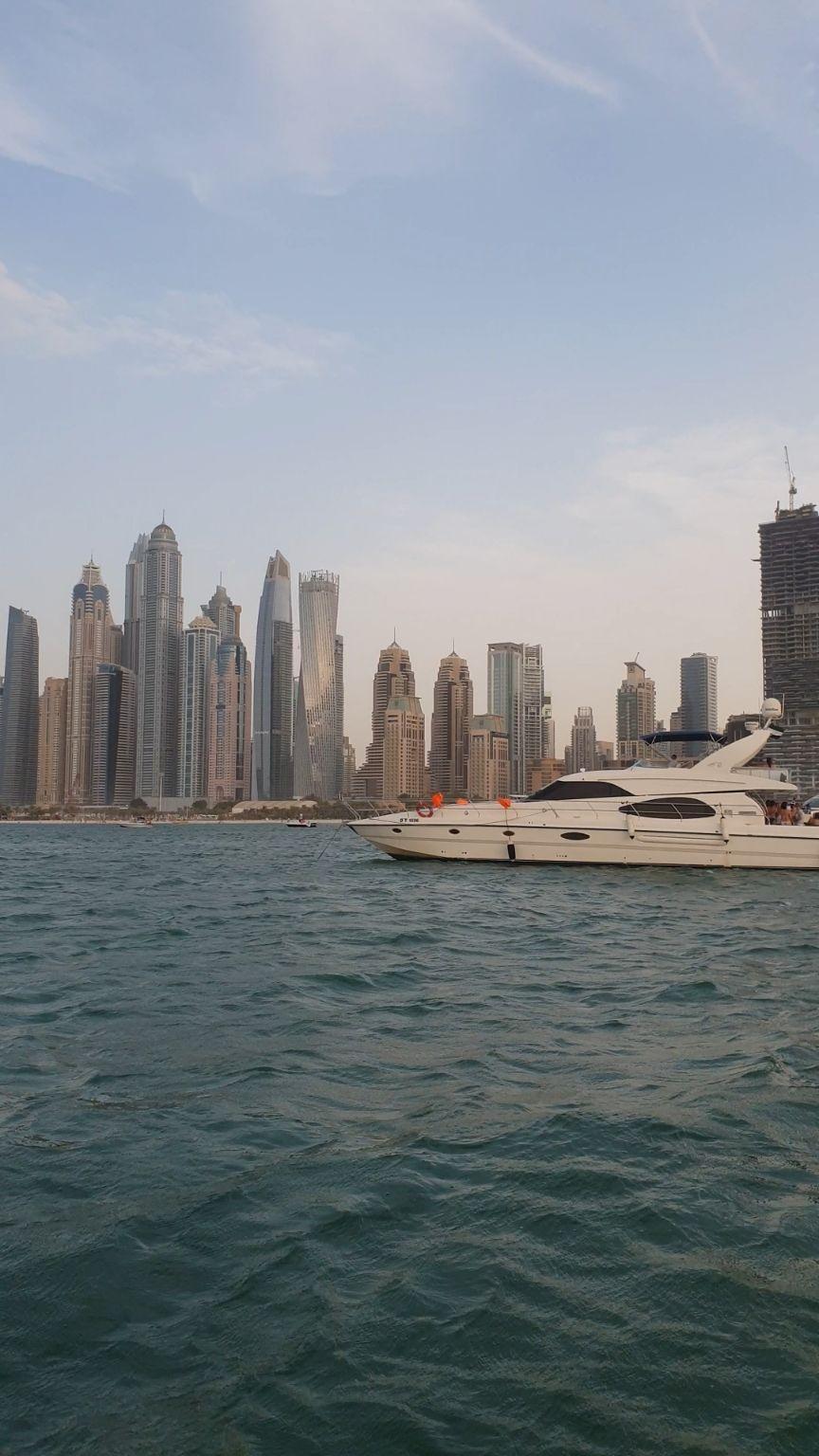 Photo of Dubai Marina - Dubai - United Arab Emirates By Hari Chandu Vakacharla