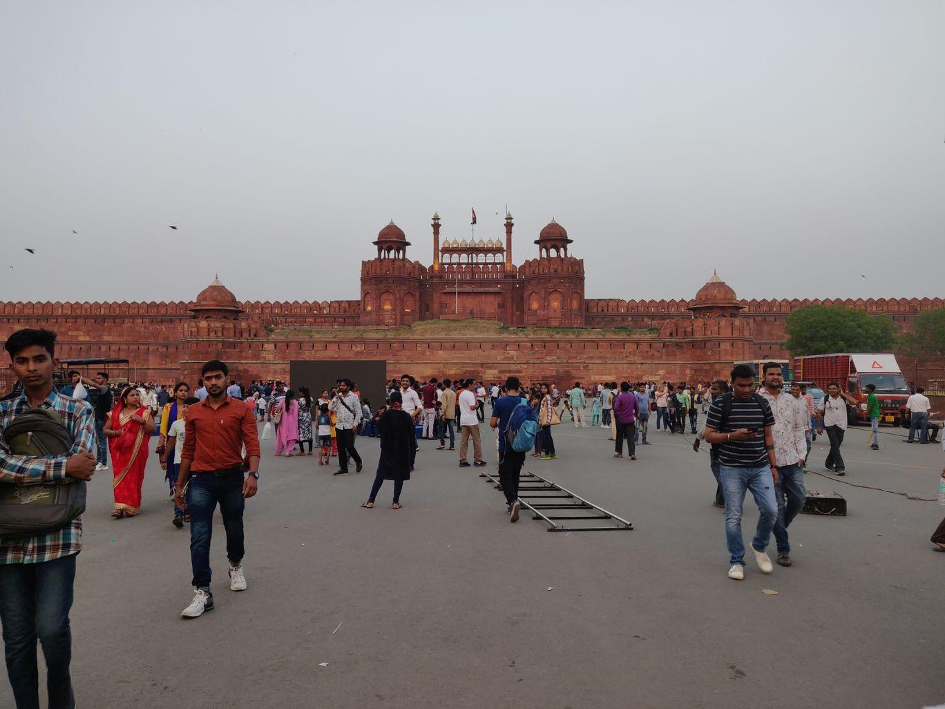 Photo of Red Fort By Kanika Konwar