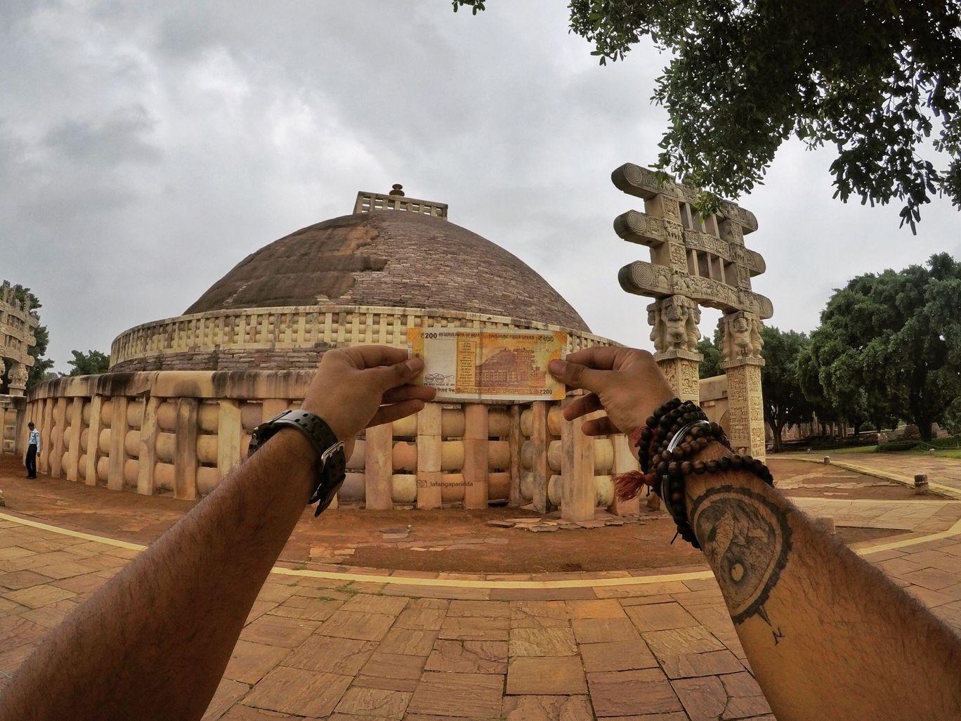 Photo of Sanchi Stupa By Bharat Garg